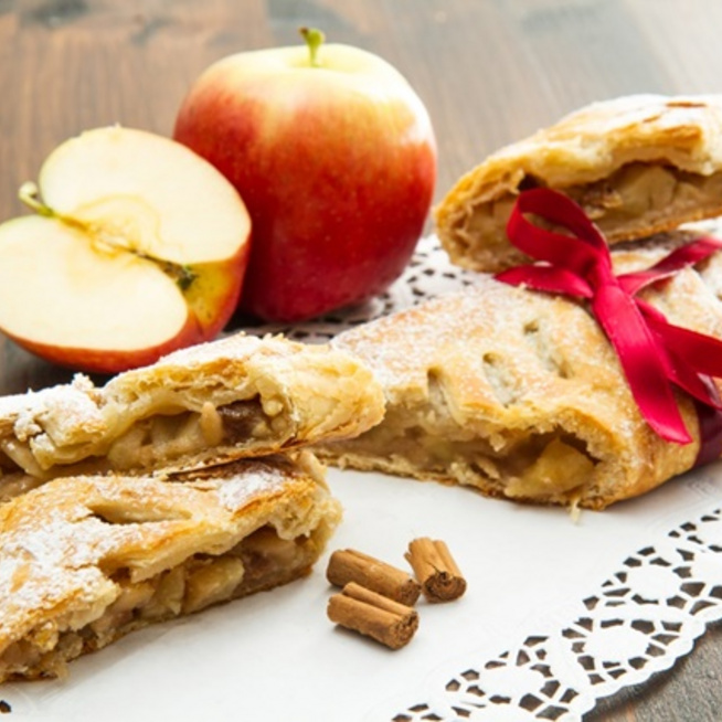 A legjobb őszi süti a gesztenyés-almás rétes