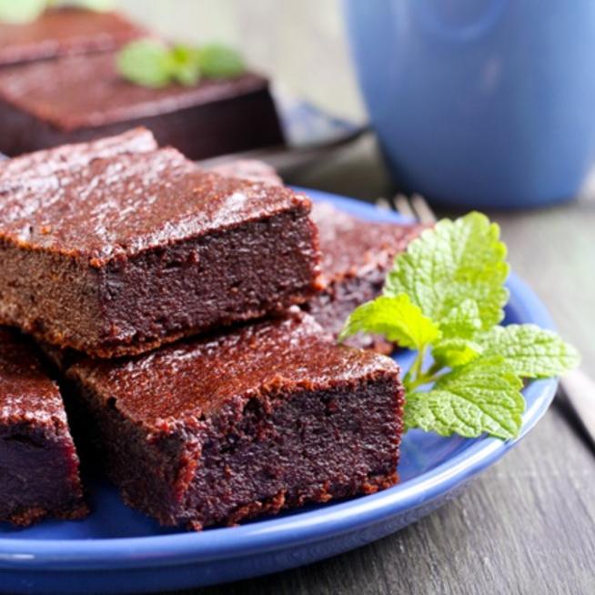 A sütőtökös brownie mindig lágy és szaftos marad belül