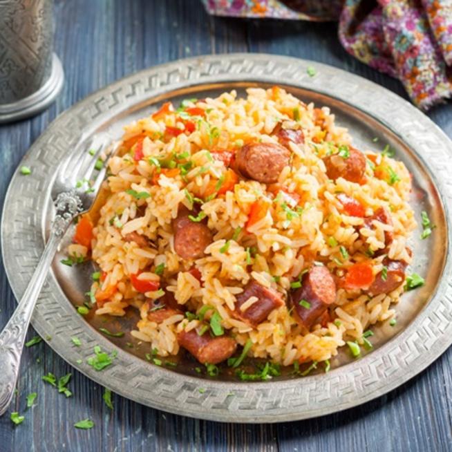 Jambalaya, a karibi rizseshús, vagy paella
