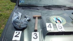 Élő ürgét találtak a táskájában a rendőrök