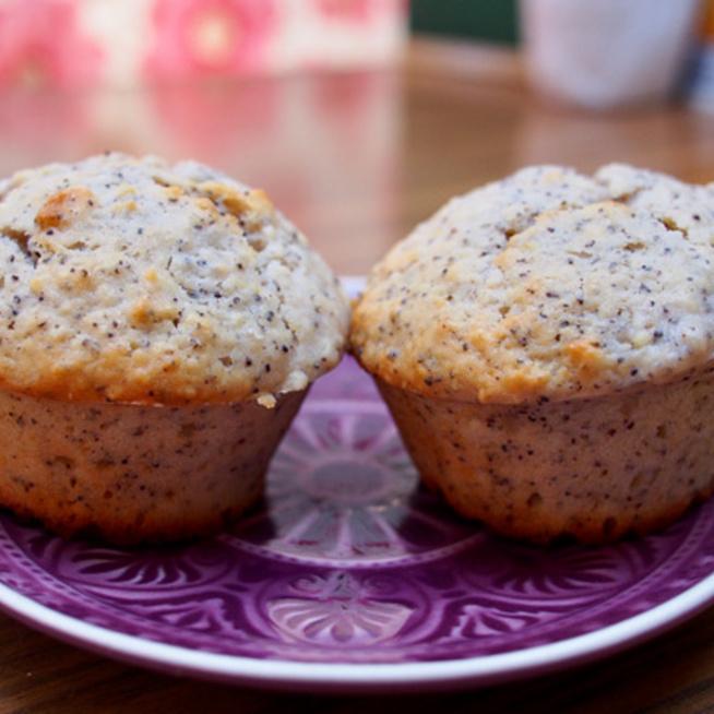Citromos-mákos muffin joghurtos tésztából - Ha gyorsan finomat a jelszó