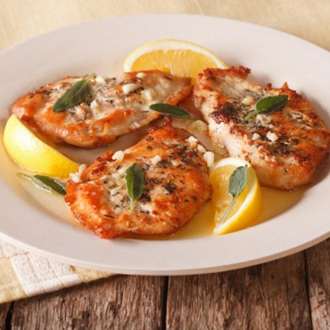 Illatos szószban omlós csirke olasz-amerikai módra: a csirke piccata
