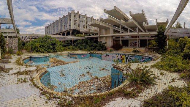 Szellemhotel a Krk-szigeten