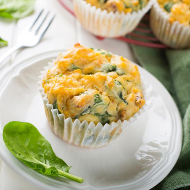 Vitaminbomba édesburgonyás muffin – Tojásból és sajtból van a tésztája