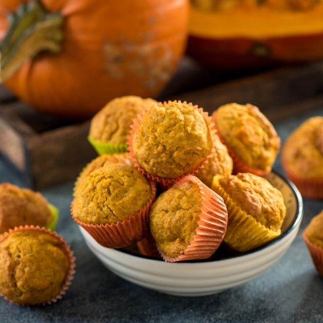 A legőszibb süti a sütőtökös muffin, készíts te is!