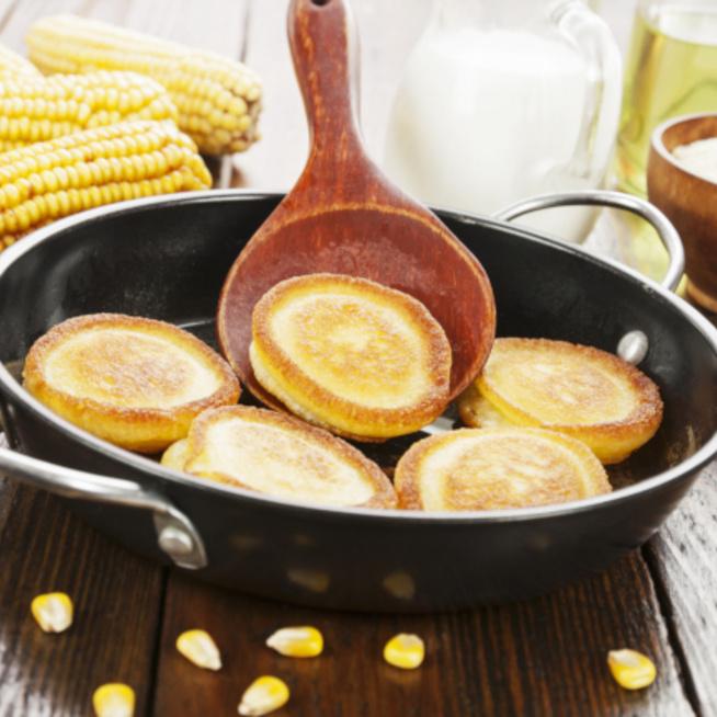 Gluténmentes amerikai palacsinta - Isteni, aranysárga korongok