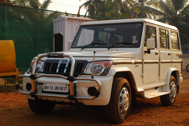 Ezt a kocsit hagytam Bombay-ben. Mahindra Bolero, borzasztó