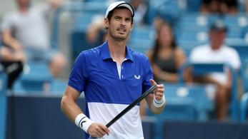 Tovább tart Andy Murray vesszőfutása