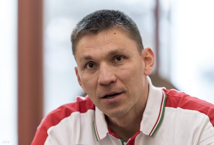 Ifj. Balzsay Károly, a magyar válogatott szövetségi kapitánya