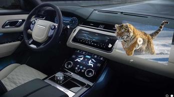 3D-s kivetítéssel segítené a sofőröket a Jaguar Land Rover