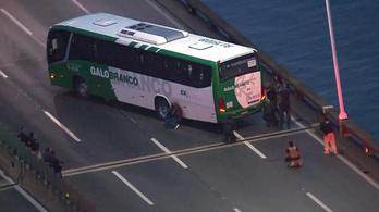 Játékpisztollyal fenyegetőzött a brazíliai túszejtő, mielőtt lelőtték volna