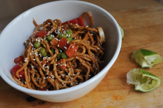mogyorós-szezámos tészta - 1
