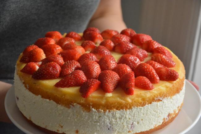túrókrém-torta - 1