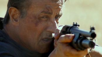 Reszkessetek, betörők, Rambo mindenkit lemészárol!