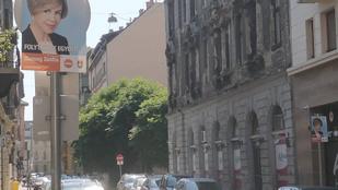Napokkal a kampány kezdete előtt megjelentek a Fidesz plakátjai Terézvárosban