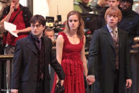 Daniel Radcliffe, Emma Watson és Rupert Grint