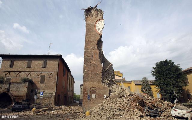 Négy ember meghalt vasárnap hajnalban Észak-Olaszországban történt, 6-os erősségű földrengésben.