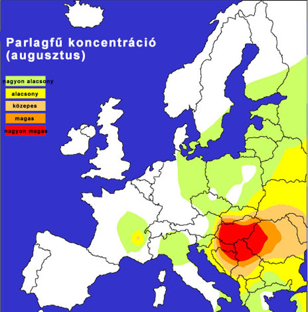 (Forrás: polleninfo.org)