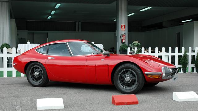 A 2000 GT talán a legszebb Toyota, amelyet valaha gyártottak