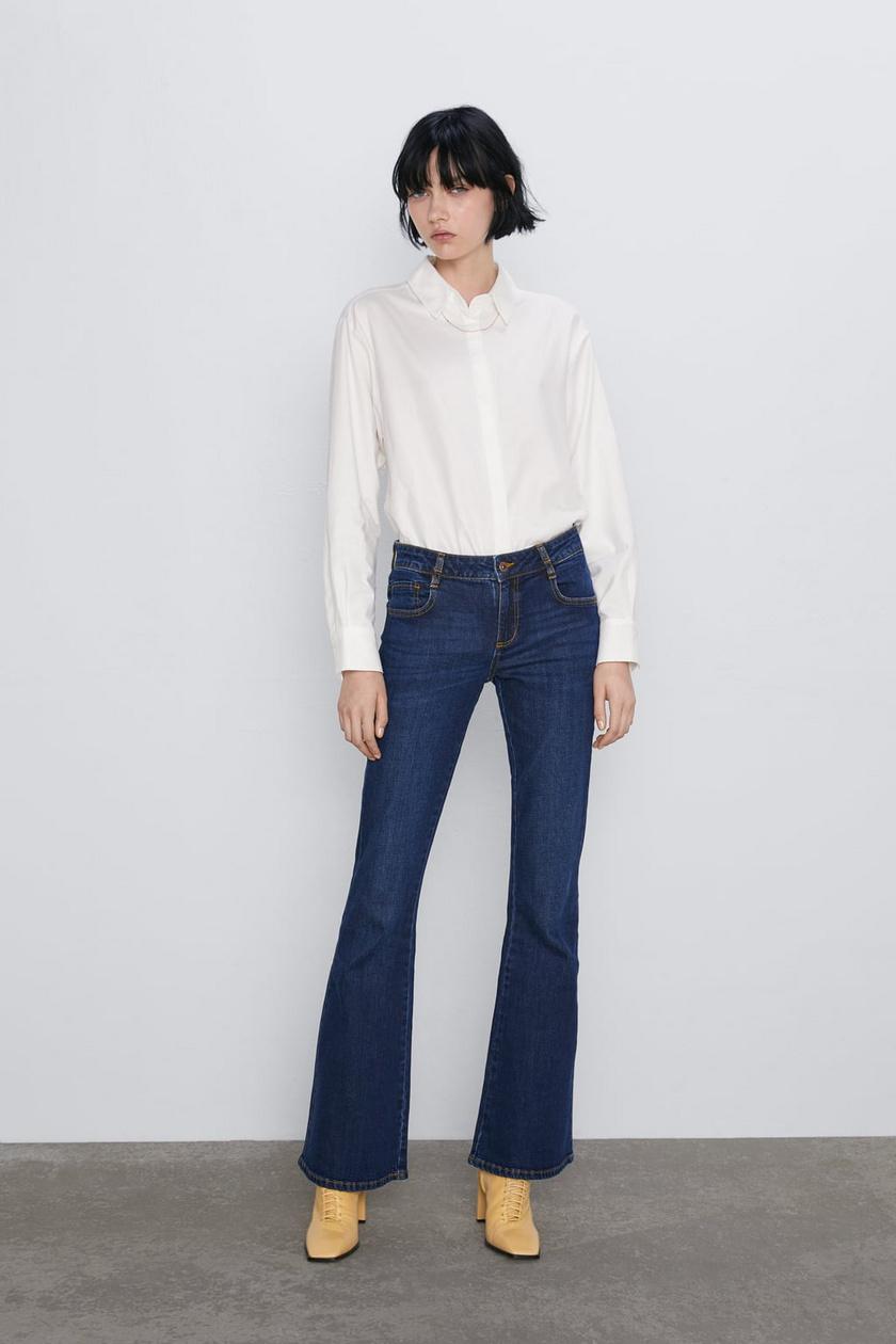 A trapéznadrágok az ősz kedvencei lesznek: nőiesek, nyújtják és vékonyabbnak láttatják a lábakat, és nagyon divatosak is. Ezt a sötét darabot a Zarában 8995 forintért vásárolhatod meg.