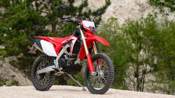Teszt: Honda CRF450L – 2019.