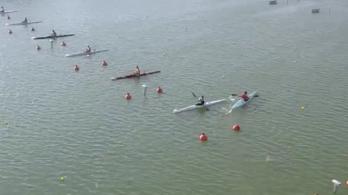 A rajthoz alig bírt beállni a szegedi világbajnokságon a tongai zászlóvivő