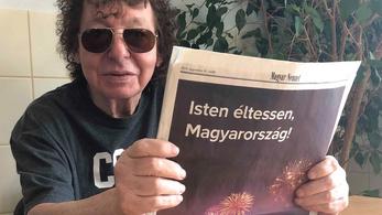 Magyar Nemzettel a kezében üzent Demjén Ferenc