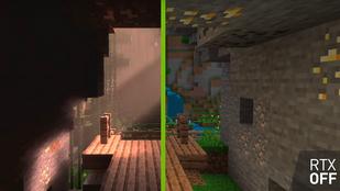 Teljesen új játék lett a Minecraft az RTX videokártyától