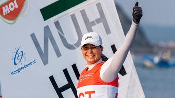 Érdi Mária bronzérmet szerzett a vitorlázók előolimpiáján