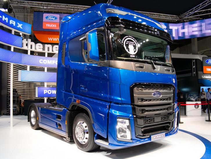 A törökországi Ford nyergest tavaly, Hannoverben mutatták be