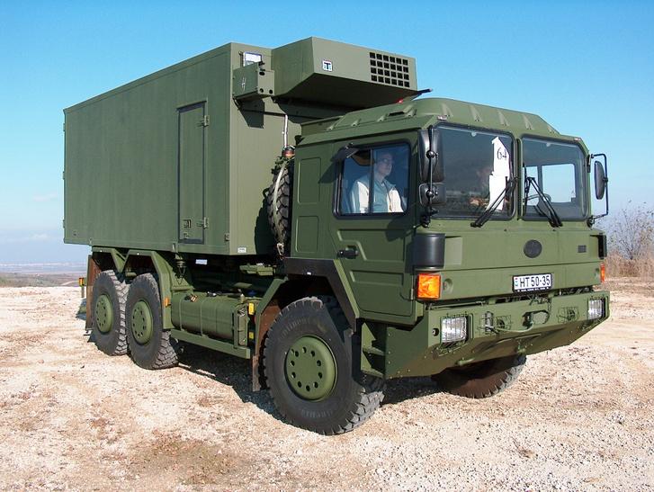 Hazánk katonai járműve, a Rába H-család kisebbik tagja