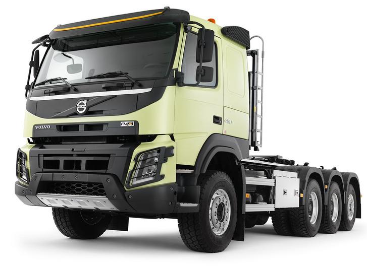 Ő a Volvo építőipari teherautó-családja