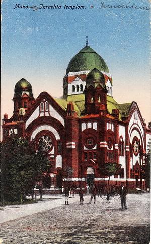 Az 1965-ben lebontott neológ zsinagóga