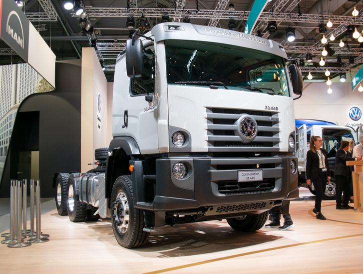 Egy Volkswagen Dél-Amerikából, amit akkoriban terveztek, amikor még nem tudták, hogy a Scania és az MAN a konszern része lesz