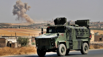 Géppuskával szórták meg a törököket