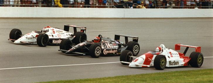 Indycar-autók 1991-ből