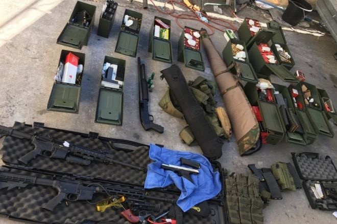 Rendőrség által lefoglalt fegyverek
