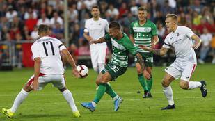 Kedvező, de rém szenvedős 0-0-t játszott a Fradi az EL-ben