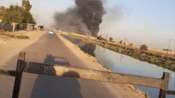 Iraki célpontot bombázott az izraeli légierő