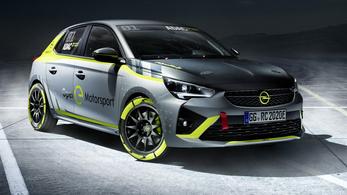 Elektromos raliautót épített az Opel