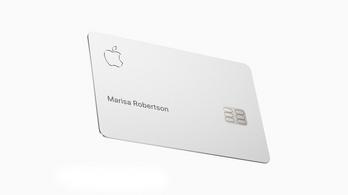 Nagyon szép az Apple új hitelkártyája, csak nem szabad tárcában vagy zsebben tartani