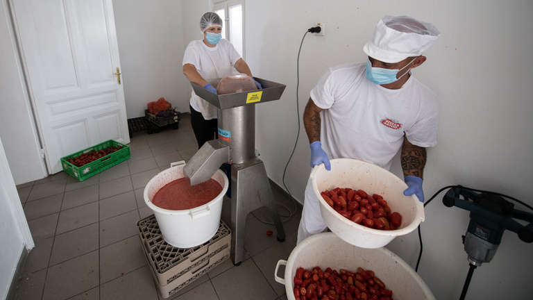 Zöldségkrémekkel kerültek drogériákba