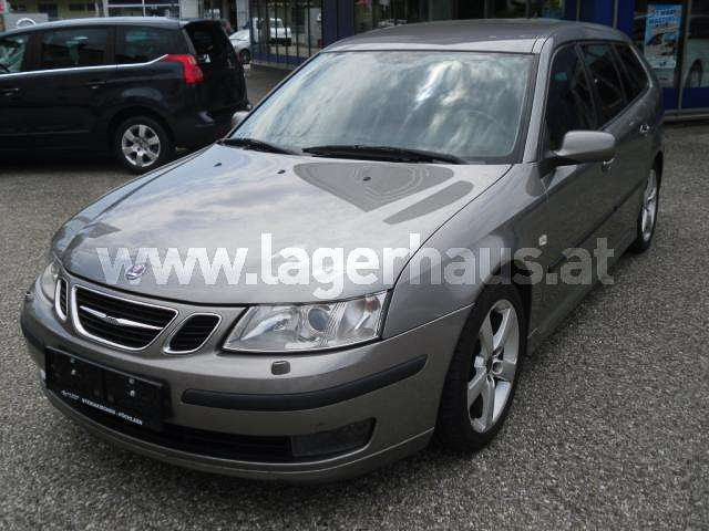 A Melk mellől vásárolt Saab 9-3 SportCombi, ahogy előszőr megláttam, az eladó hirdetésében