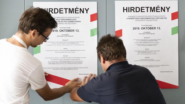 Hivatalosan is elindult az önkormányzati választási kampány