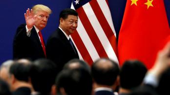 Trump megint gazdasági háborút hirdetett Kína ellen