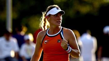Babos nagy küzdéssel főtáblás a US Openen
