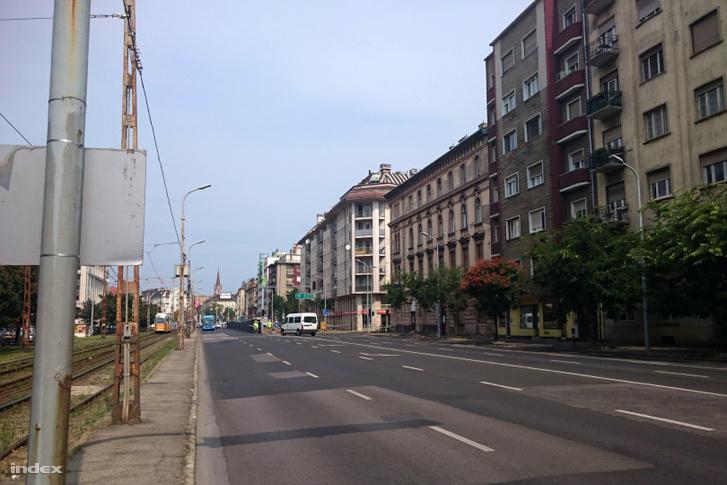 Lezárt Soroksári út, a Dandár és Tindódi utca közötti szakaszon 2019. augusztus 24-én
