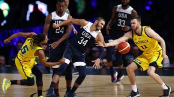 13 éve nem történt ilyen a kosárlabdában: amerikai vereség