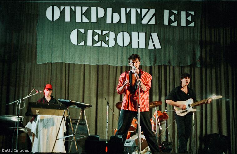 Ez a fotó egy 1986-os koncertet örökít meg