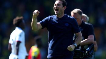 A Chelsea megszerezte első győzelmét Lamparddal